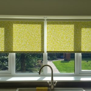 Roller blinds, Knebworth, Hertfordshire